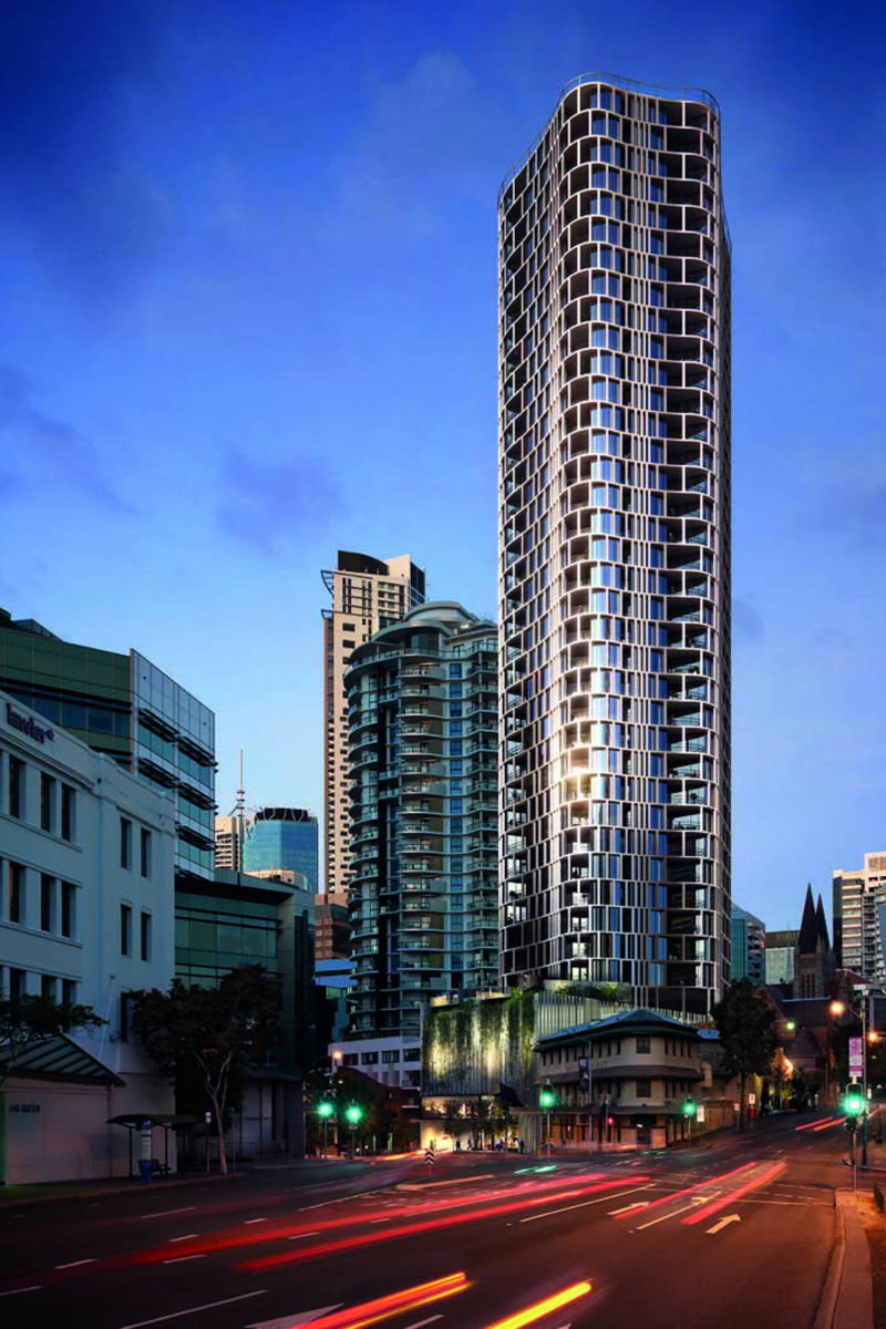 Spire Apartments - Tensioned Concrete | Post tensioning ...